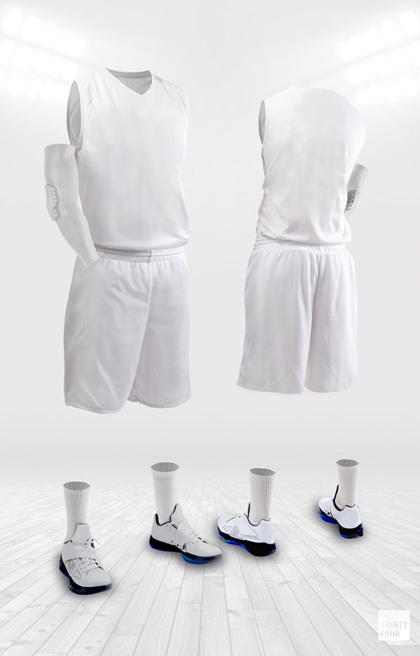 Download Project Thirty Four Jersey Template Jersey Design Jersey High Top Basketball Shoes