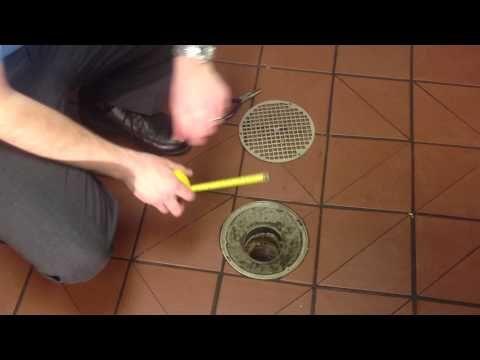 Kitchen Floor Drain Clogged Floor Drains Kitchen Flooring Clogged Drain