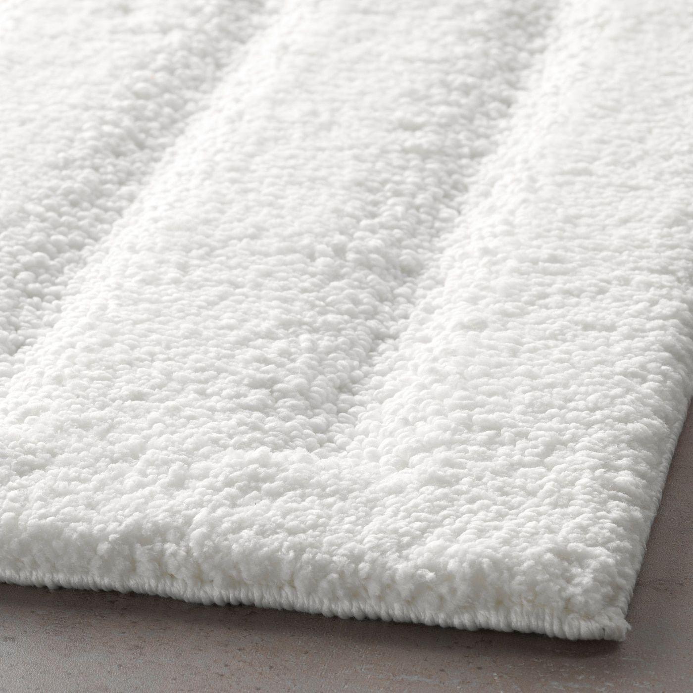 Emten Tapis De Bain Blanc Ikea Canada Ikea In 2020 White Bath Mat Bath Mat Ikea