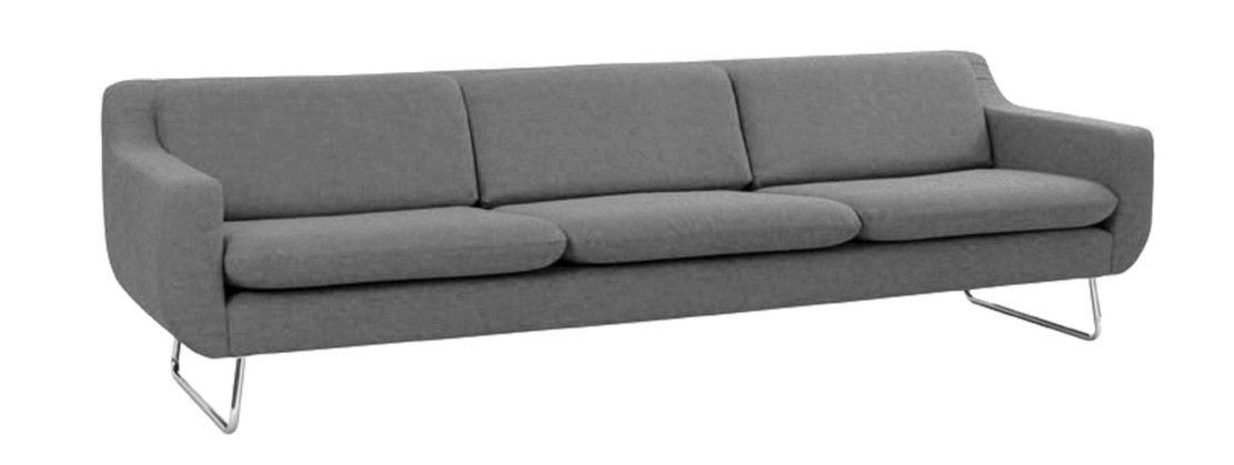 Aspen 4 seat sofa, felt, armour - Felted wool - at mydeco.com - Shop for your home from Europe's best boutiques. This product is delivered by Content by Conran