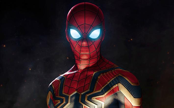 Télécharger Fonds D écran 4k Spiderman Super Héros De L