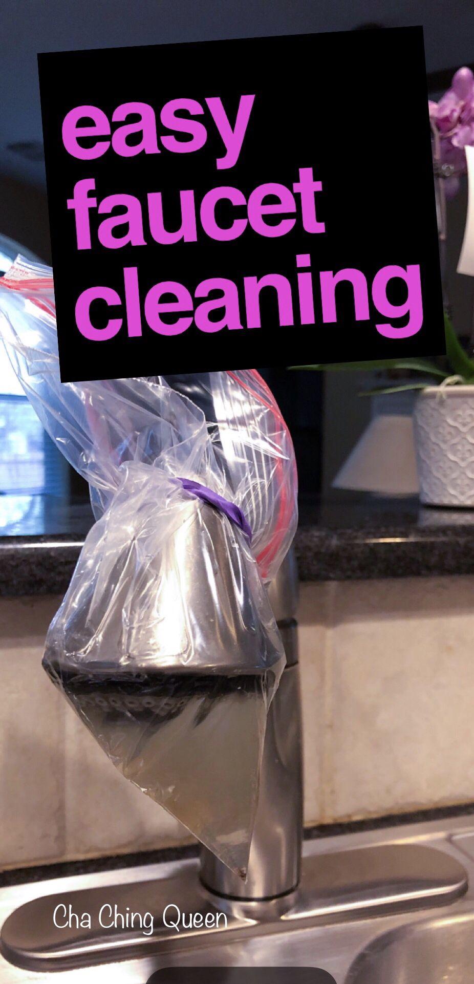 Diy homemade shower head cleaner 1 step 1 ingredient