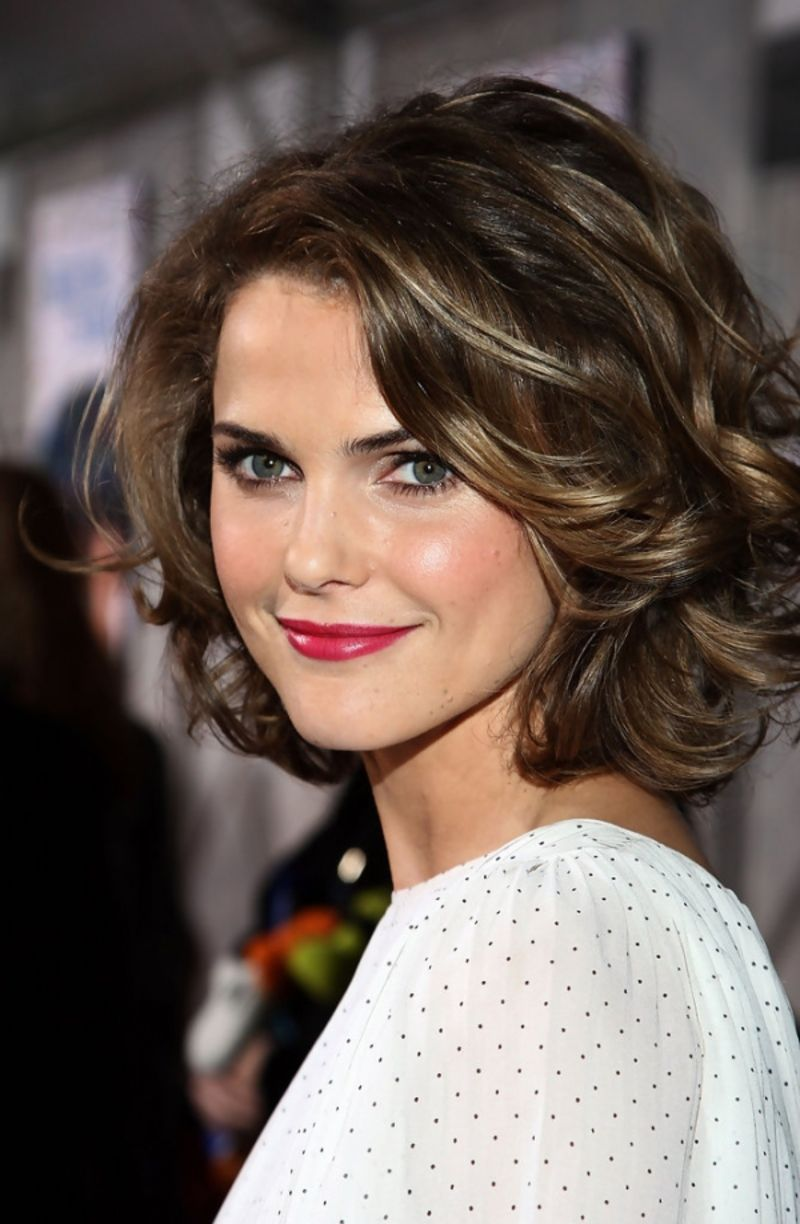 Super Chic Curly Hairstyles for Short Hair   Hairstyles