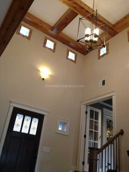 Two story room with high bay windows spray foam icynene insulation two story room with high bay windows spray foam icynene insulation was used to keep solutioingenieria Image collections