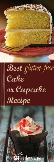 The Best Gluten Free Cake Recipe The Best Gluten Free Cake Recipe Gluten Free Recipes gluten free vanilla cake
