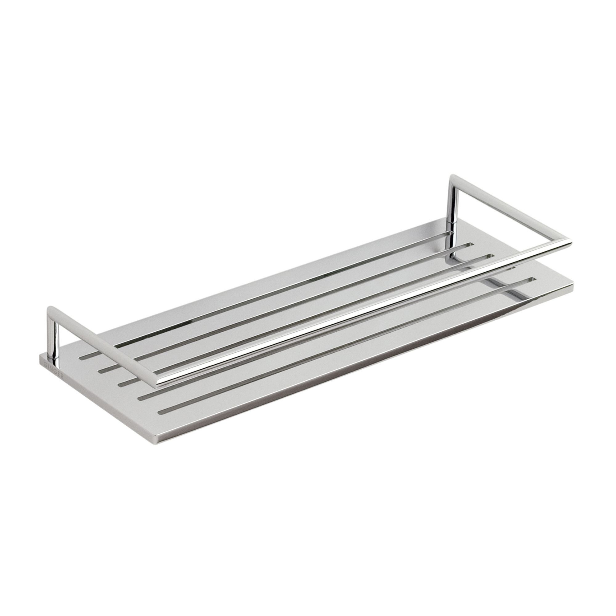 Surface stainless steel shower shelf sheet metal work - Bathroom shelves stainless steel ...