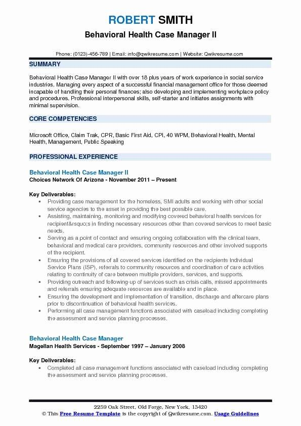 Pin On Mental Health Resume Sample