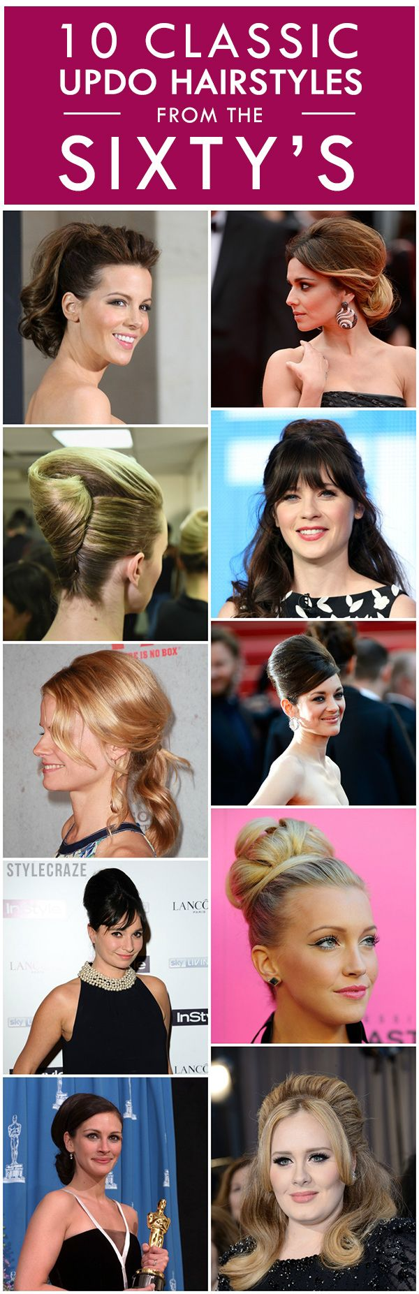 classic updo hairstyles from the 's  classic updo hairstyles  -  classic updo hairstyles from the 's
