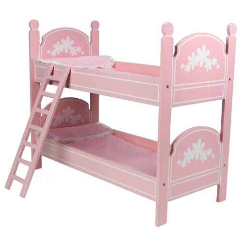 Best Black Friday 18 Doll Bunk Bed Perfect Fit For 18 Inch 640 x 480