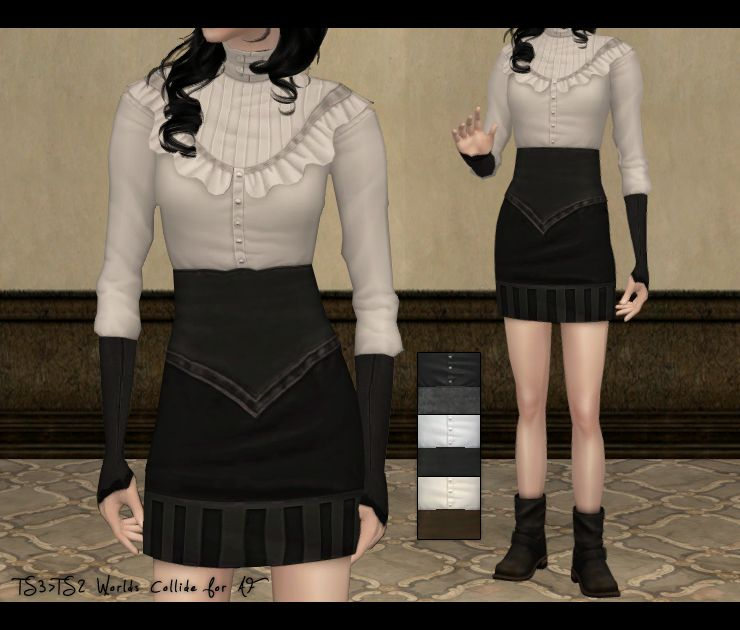 Egg Hunt stuff + Blind Date gift for Shadowfell - TS3>TS2 Worlds Collide for AF   Yuxi (esperesa)
