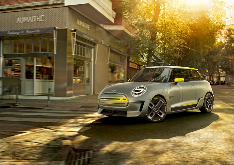 Mini Electric Concept Vehicle Unveiled At 2017 Frankfurt Motor Show