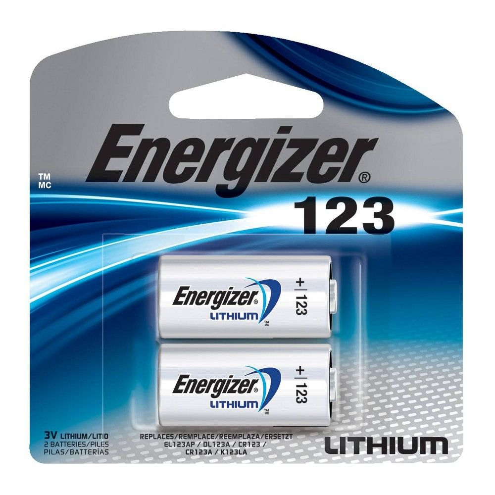 Energizer 2pk 123 Batteries Lithium Photo Battery Energizer Battery Lithium Battery Energizer
