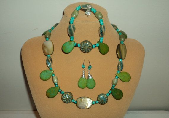 Emerald Isle by SharisMixedBlessings on Etsy, $85.00