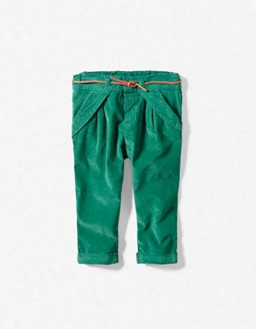 green baby trousers. oh. my. word.