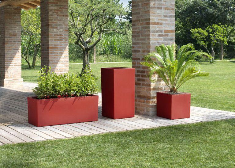 Blumentopf Modern how to separate garden space design flower pot terraform pl