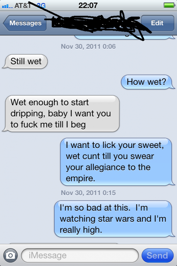 Sexy sweet text messages