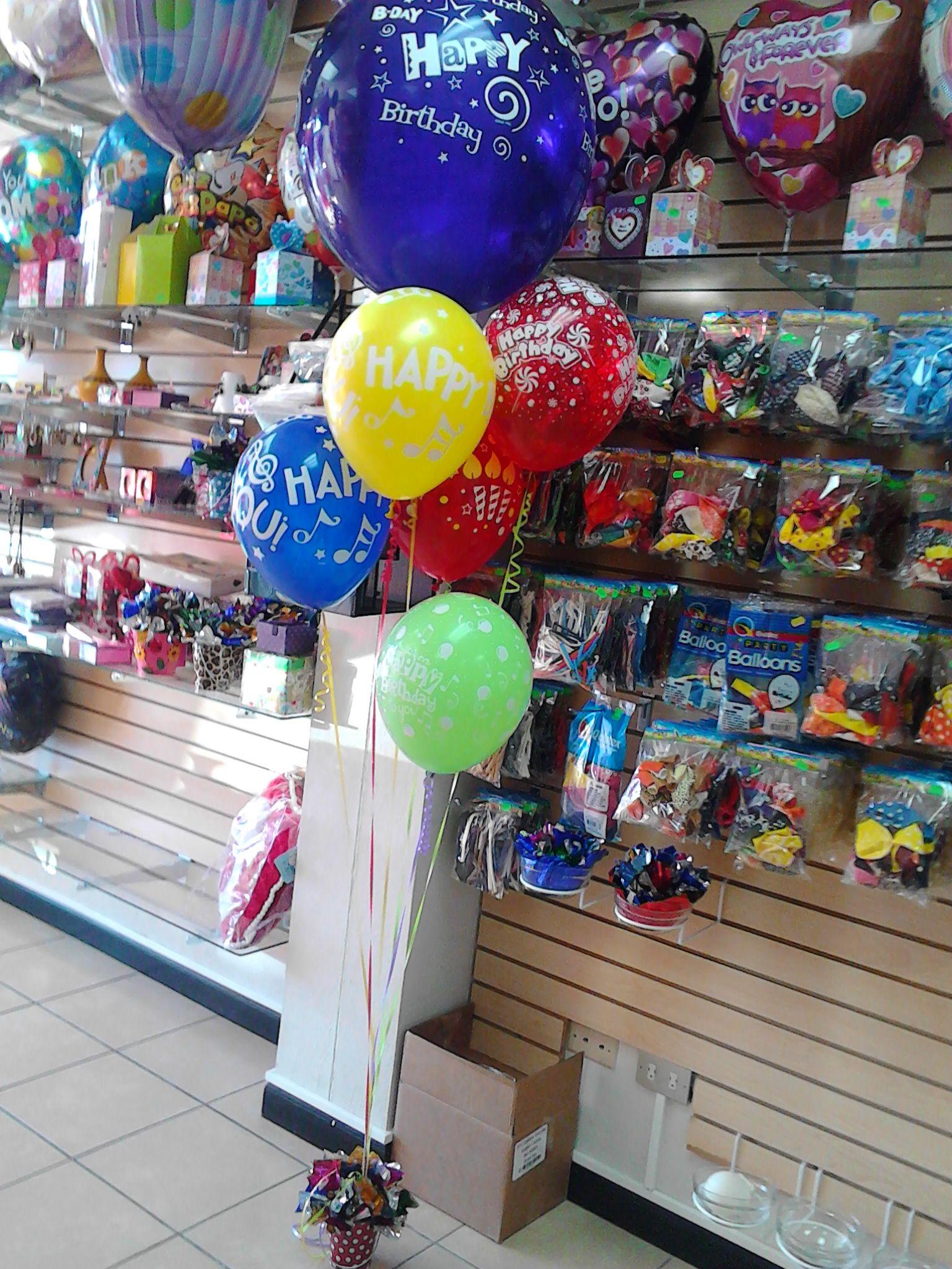 Ramillete de globos con helio arreglos con globos - Como conseguir globos de helio ...