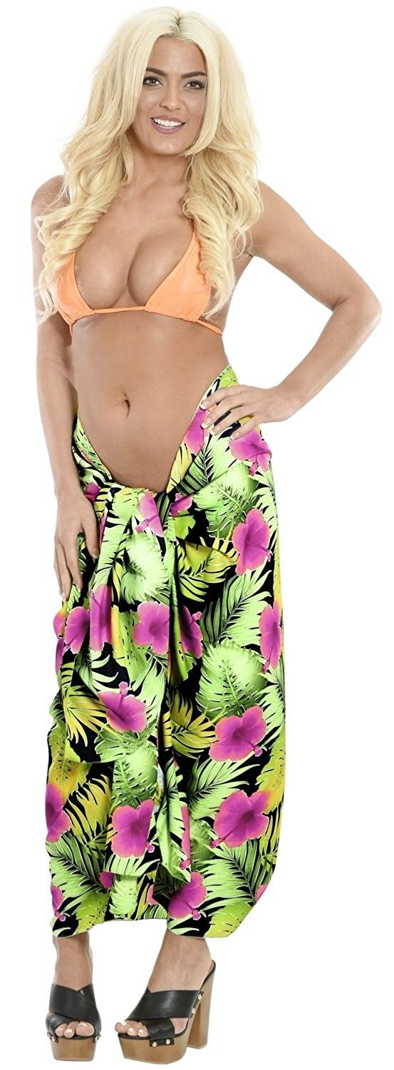 Women's Clothing, Swimsuits & Cover Ups, Cover-Ups,Sarong Bathing Suit Swimwear ... 9