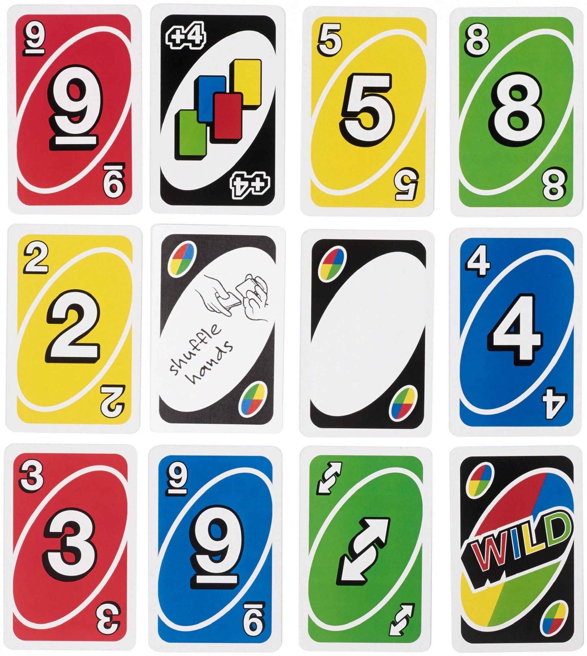 Blank Uno Card Template  Classic card games, Uno card game