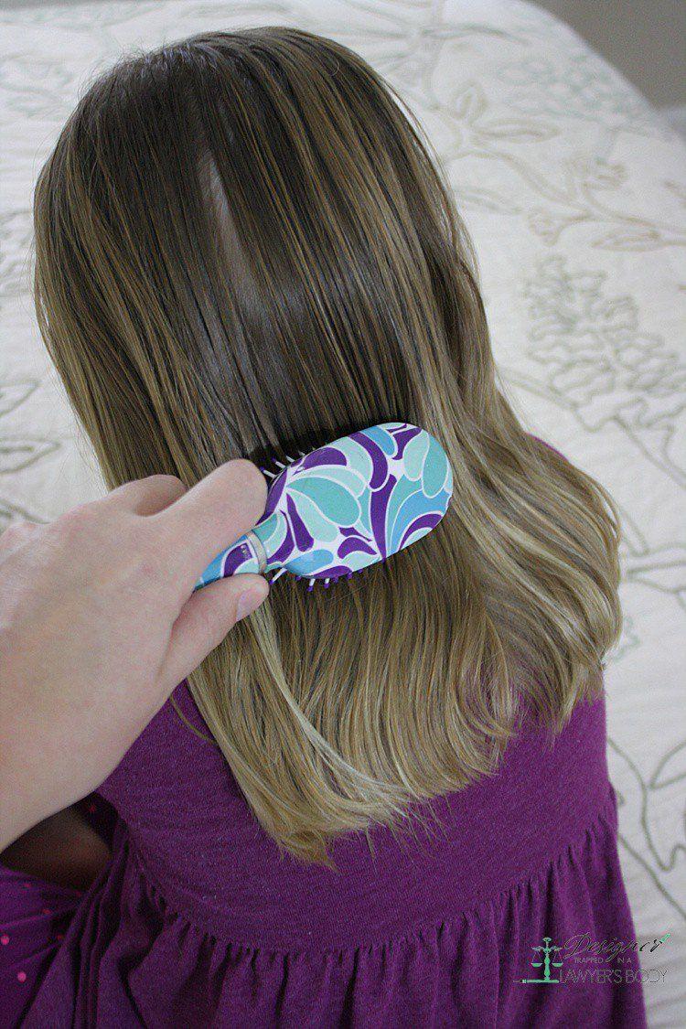 DIY Hair Detangler Kaleidoscope Living Diy hair
