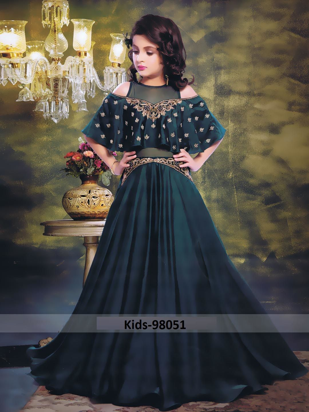 29c5162cea74 LATEST KIDS GOWN COLLECTION FOR WEDDING AND PARTIES