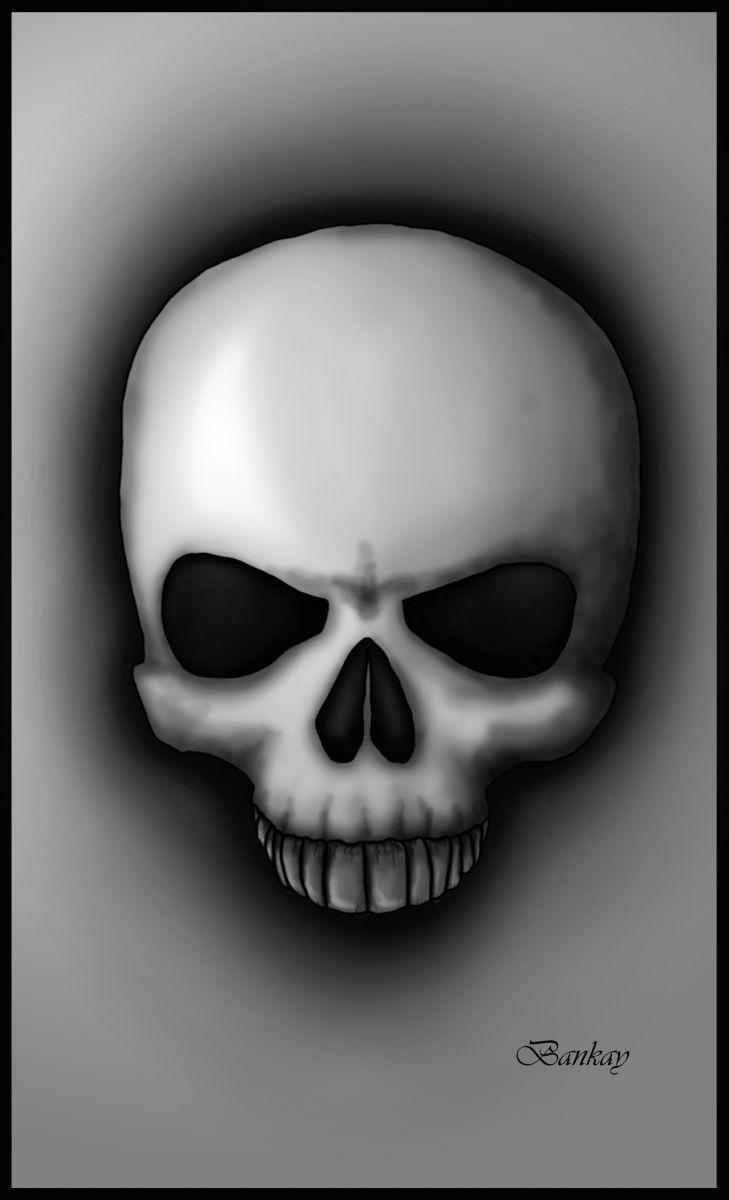 Black Skull by Bankay78.deviantart.com on @deviantART