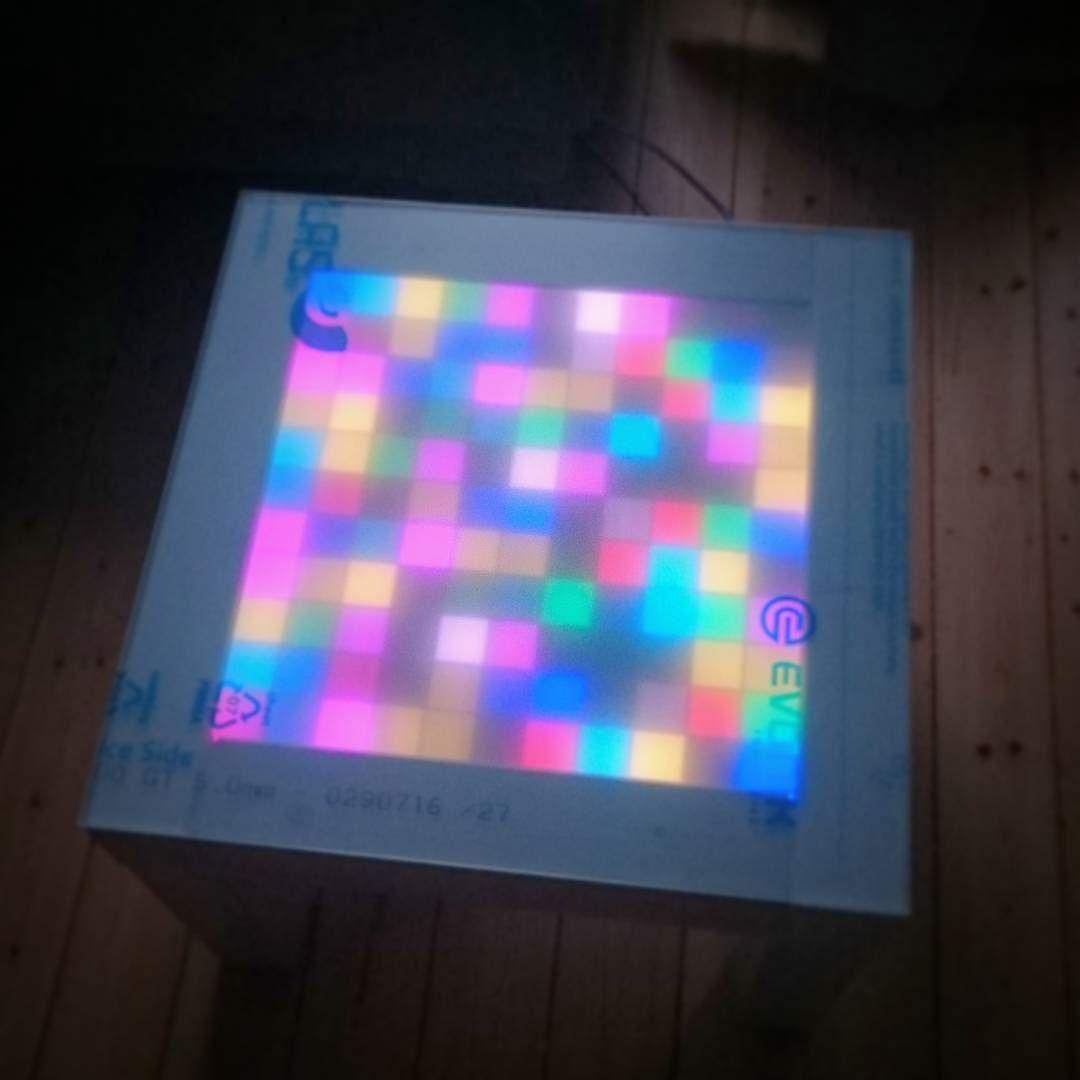 New #acrylicglass for my #ledmatrixtable to make it #waterproof ...