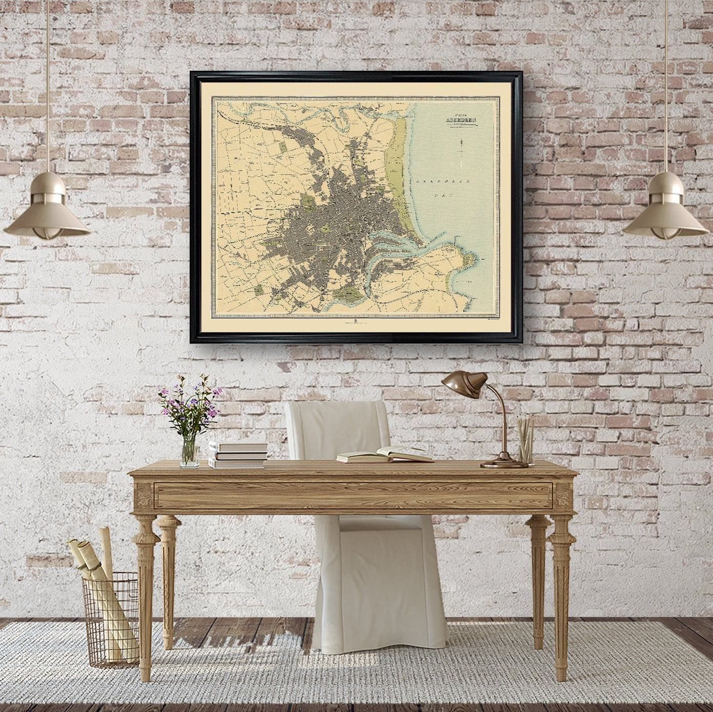 Map of Aberdeen Poster Print Vintage Wall Decor City Map of Scotland  #MapofAberdeen #FarmhouseDecor #CountryhomeDecor #PosterMap  #HighResolutionMap #VintageArt #VintageWallDecor #MapOnPaper  #VintageMap #CityMap #AntiqueMaps #MapArt #RusticDecor #FarmhouseDecor #AntiqueFarmhouse  #vintagehomedecor #countryhomedecor #vintagehome #loftdecorations #etsyshop #etsy #instahome #melrosetradingpost  #standwithsmall  #outfy @outfyinc