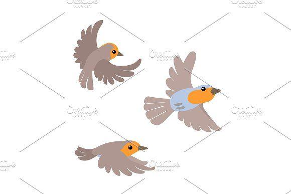 Vector Flat Cartoon Animal Clip Art Cartoon Animals Animals Clip Art
