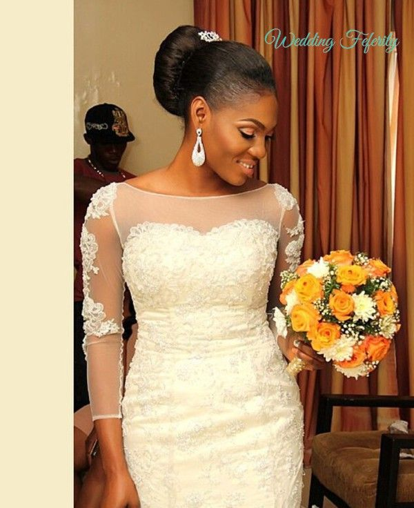 Nigerian Wedding Gowns: Nigerian-wedding-dress-designer-yemi-osiyemi.jpg (600×736