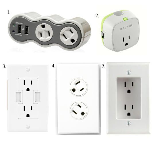 It S Electric Uniquely Convenient Power Outlets Accessories Power Outlet Recessed Outlets Wall Outlets