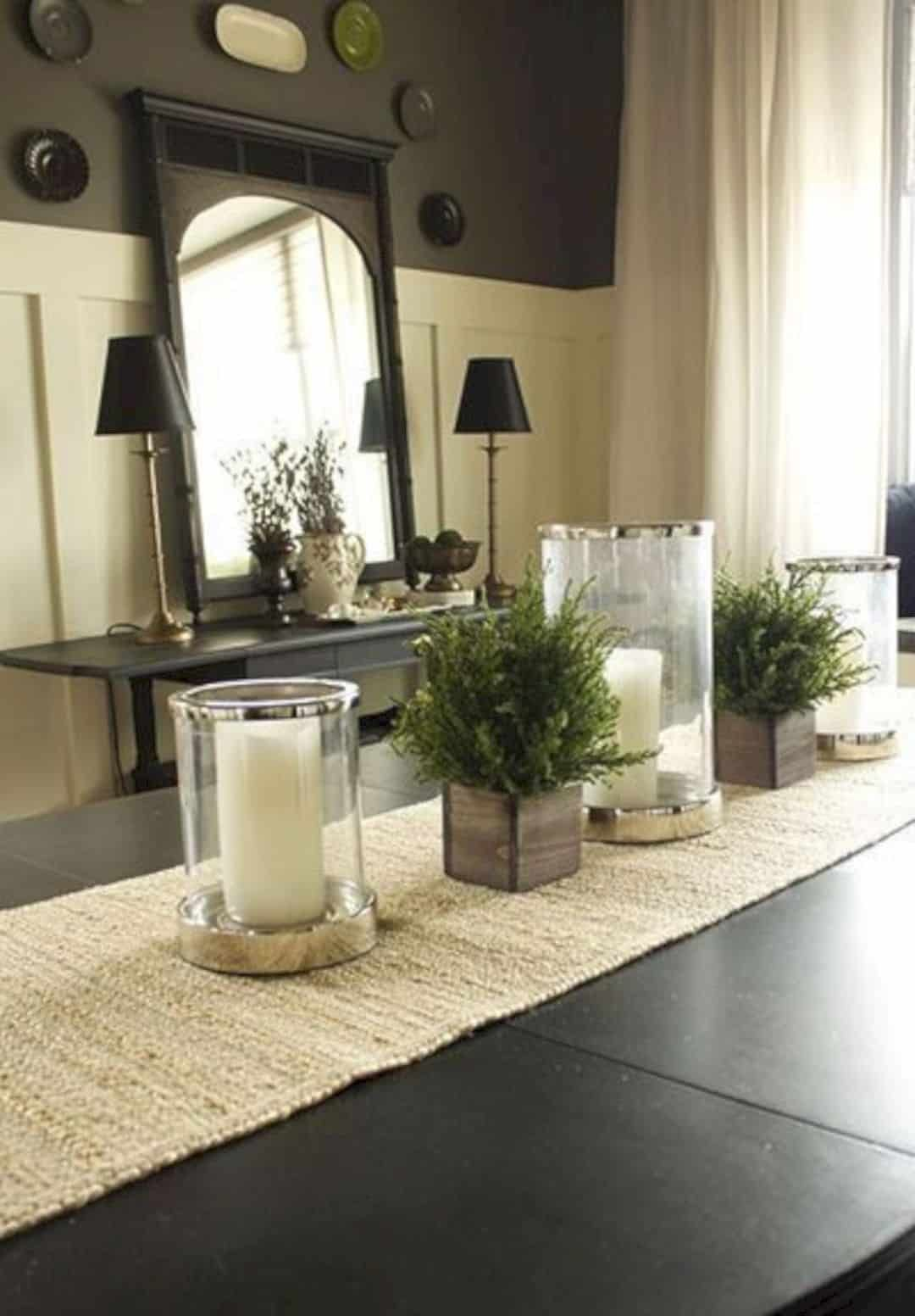 Candles For Dining Room Table / Hurricane candleholder Bronze Luxury dining table ... / Get inspired with these décor tips and ideas from the world's best restaurant designs.