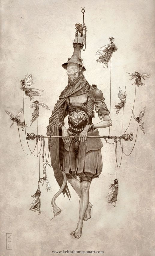 Character Design Techniques Keith Thompson : Goremound bone knight keith thompson art that