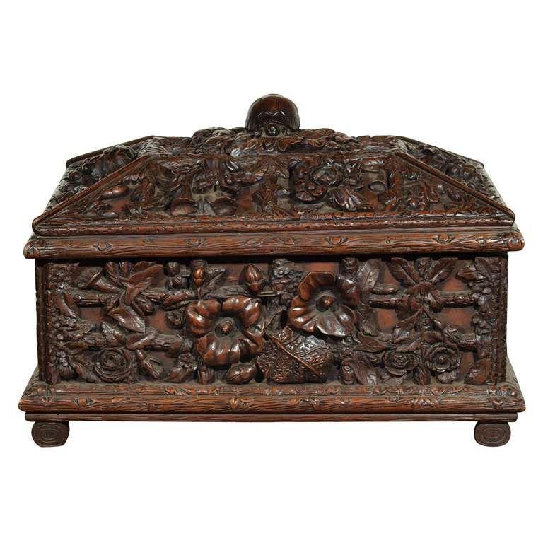 Large Black Forest Box Devil In The Details Box Decorative