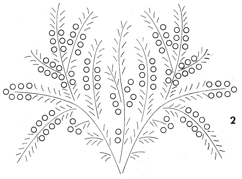 manualidades varias: Moldes de Flores Para Bordar en Cinta | Dibujos ...