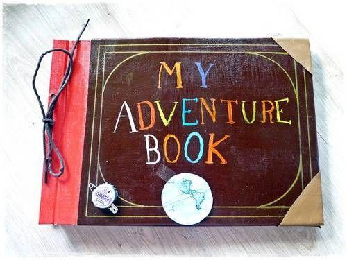 Adventure Book Up Pixar Paper Crafts Scrapbooking