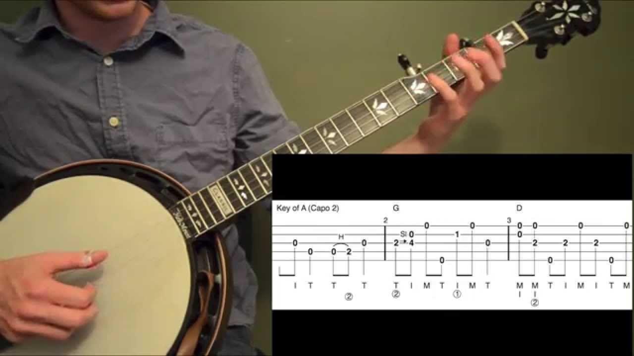 wagon wheel beginner banjo lesson banjo in 2019 banjo tabs hammered dulcimer banjo. Black Bedroom Furniture Sets. Home Design Ideas