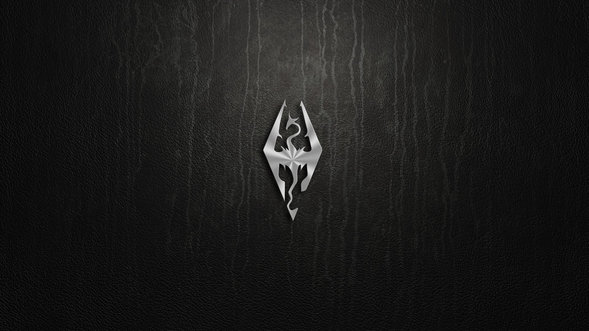 Skyrim Logo Hd Wallpapers Skyrim Wallpaper Skyrim Wallpaper Iphone Elder Scrolls V Skyrim