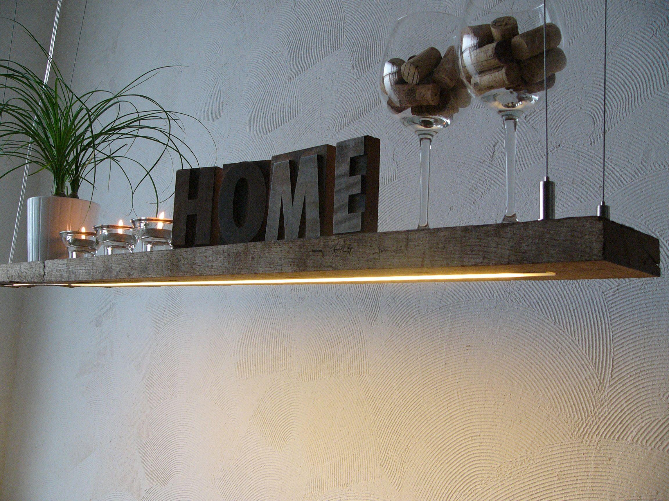 Led badezimmerlampe ~ Led lampe hängeleuchte holz antik balken holzlampe rustikal ebay