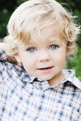Cute Little Blue Eyed Boy Little Boy