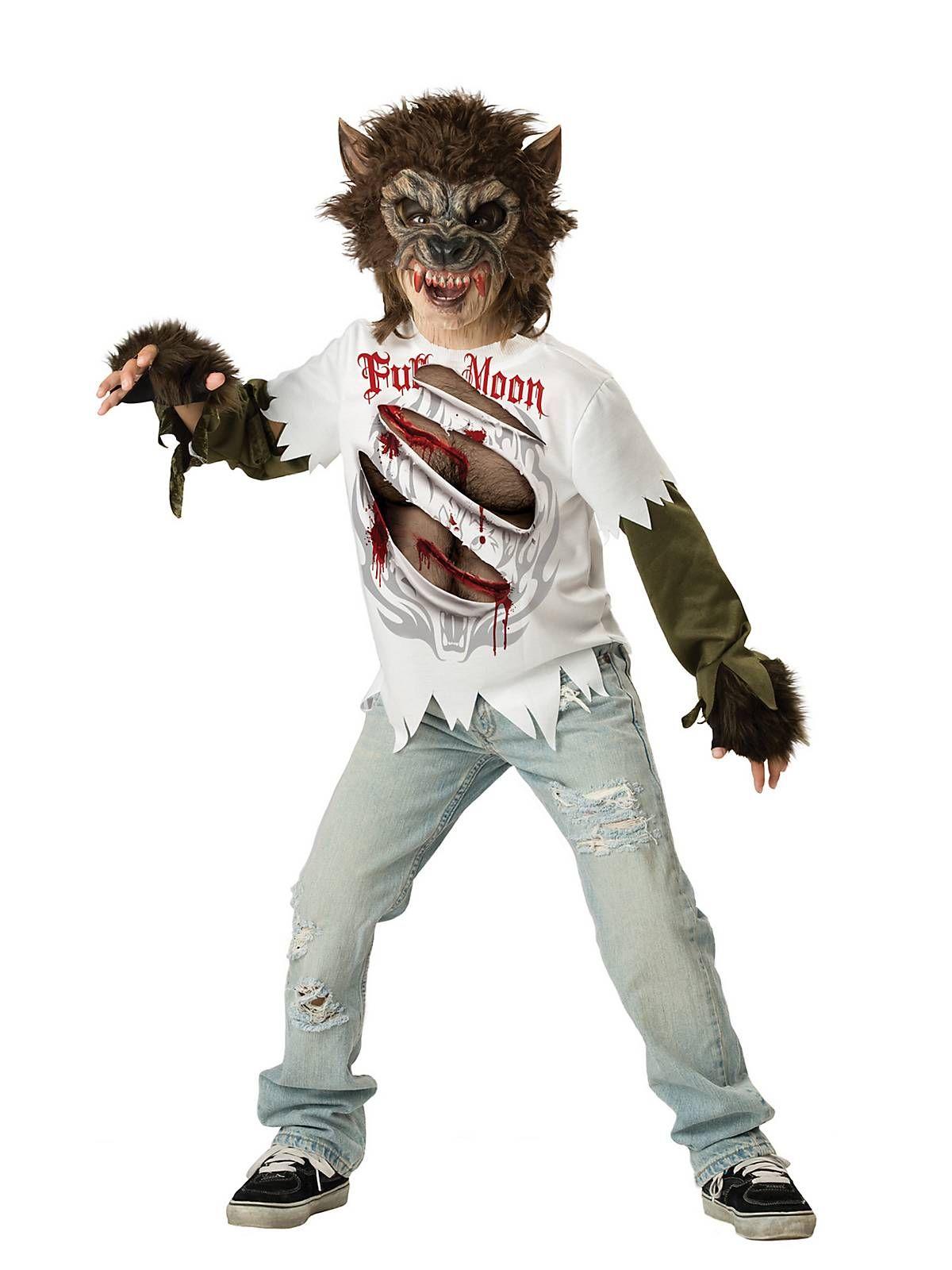 Boys werewolf costume werewolf costume kids werewolf