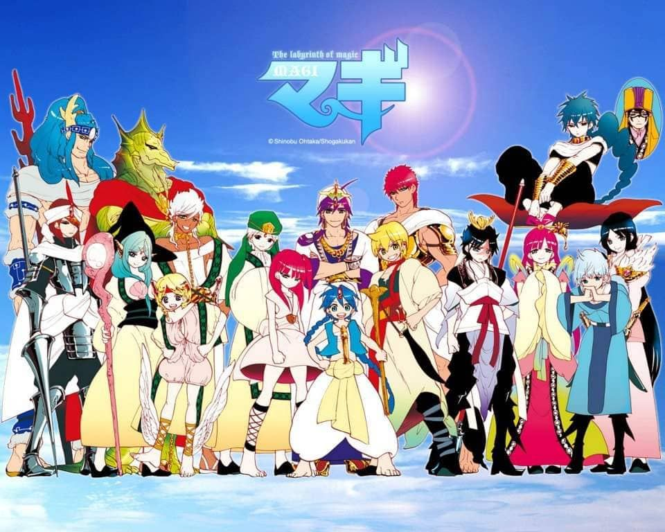 Pin by Anh Thư on Magi Aladdin magi, Magi 3, Anime