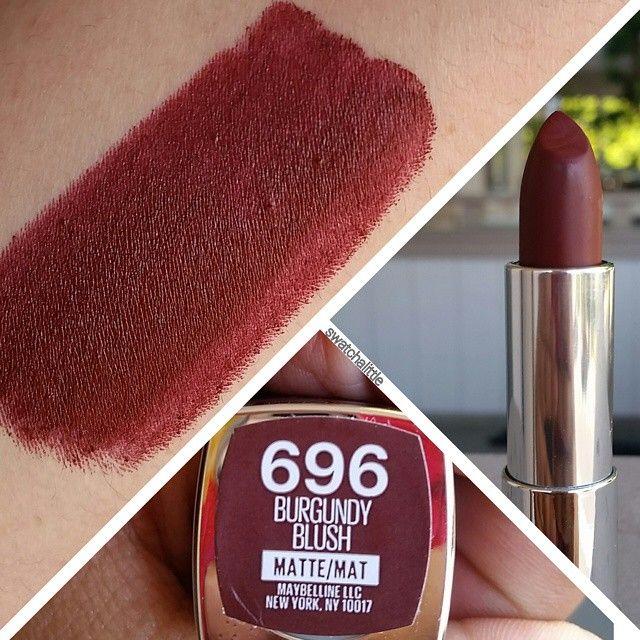 Maybelline Matte in Burgundy Blush | Cosmetics | Pinterest ...