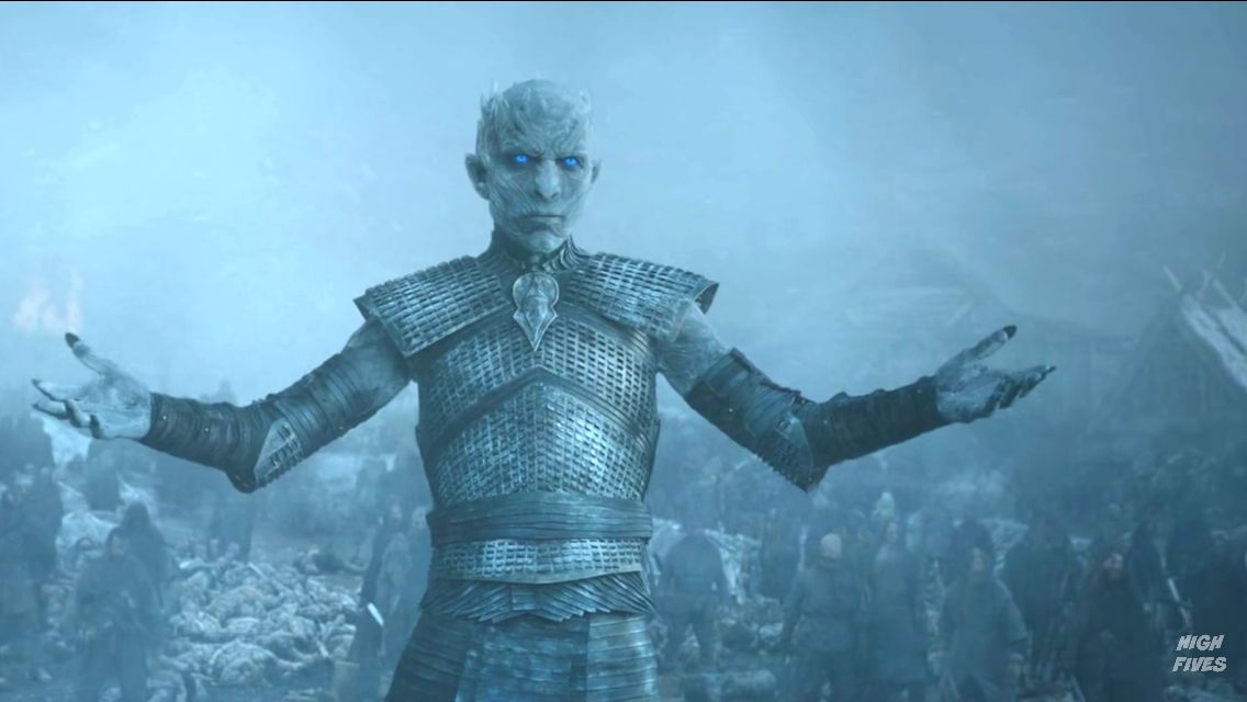 Come at me bro, The Nights King, Game of Thrones: season 5 episode 8 ...