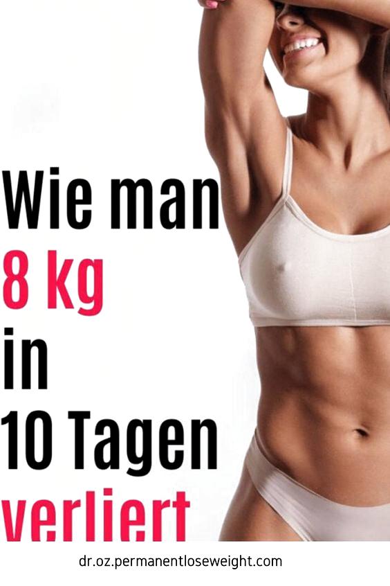 wie kann man in einer woche 10 kg abnehmen