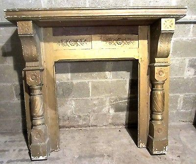 Fireplace mantel and Mantels