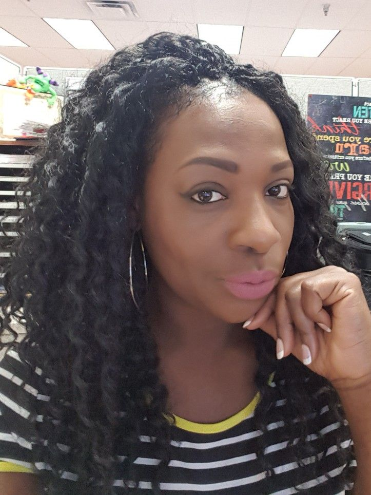 Crochet it for the summer, protective style.   Hairstyles ...