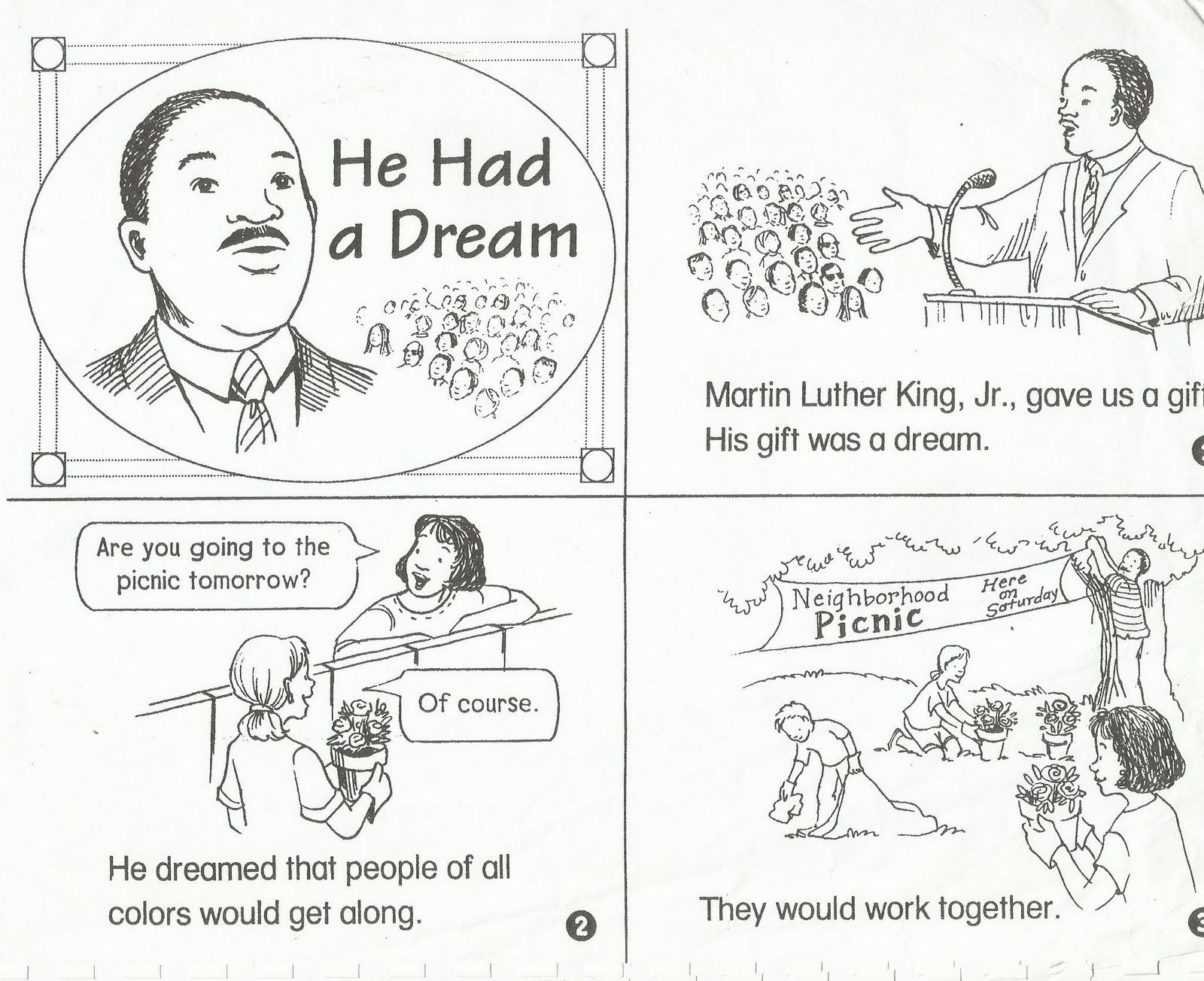Worksheet Free Martin Luther King Worksheets Fiercebad With Coloring Pages For Kindergarten