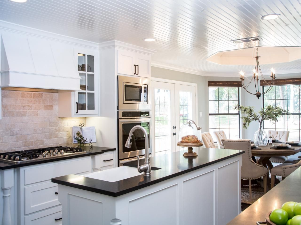 Fixer upper yours mine ours and a home on the river for Kitchen ideas joanna gaines