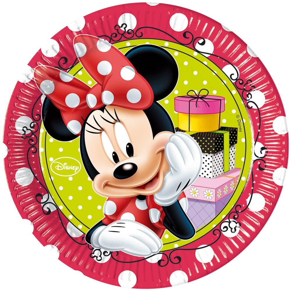 Disney Minnie Mouse Classic Red Polka Dots Party Tableware ...